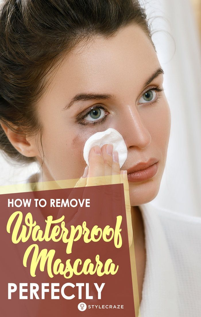 How To Remove Waterproof Mascara Perfectly Mascara