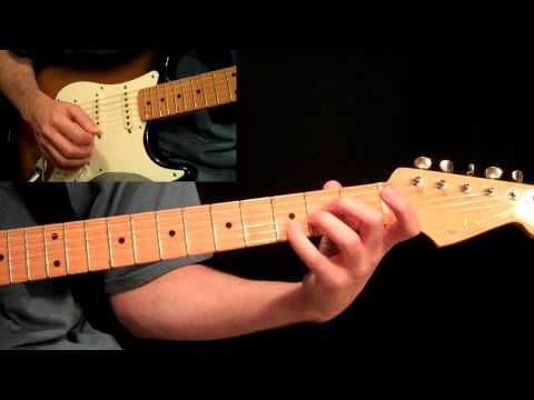 Pink Floyd - Comfortably Numb Guitar Lesson Pt.1 - All Rhythm Guitar ...