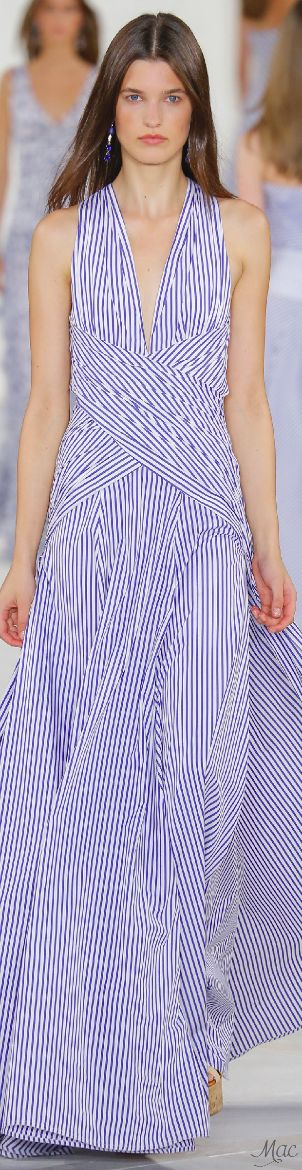 Spring 2016 Ready-to-Wear Ralph Lauren | Vestido coctel | Pinterest ...