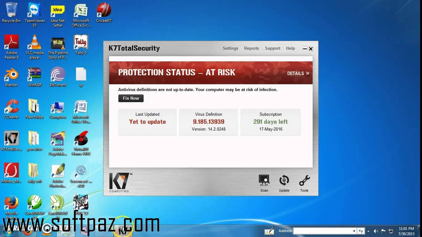 Downloading K7 Offline Updater Has Never Been So Easy For K7