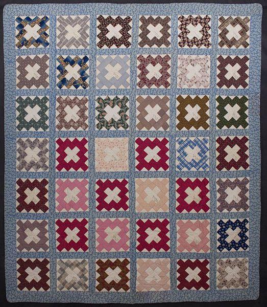 Album Patch Signature Quilt: Circa 1850; New York