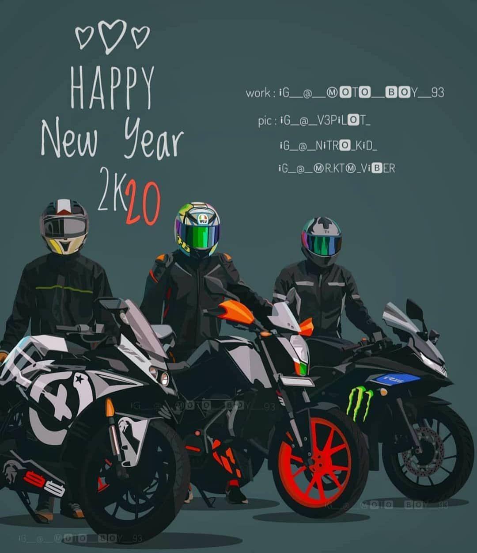 Happy New Year 2020 Source Moto Boy 93 Ktm