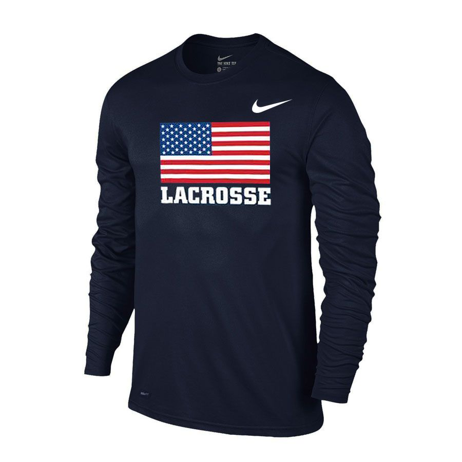 Nike Usa Quickstrike Shooter Lowest Price Guaranteed Lacrosse Outfits Girls Lacrosse Clothes Lacrosse Sweatshirt [ 900 x 900 Pixel ]