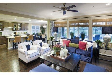 Model Home Living Room somerset model - atlanta | living / family rooms | pinterest