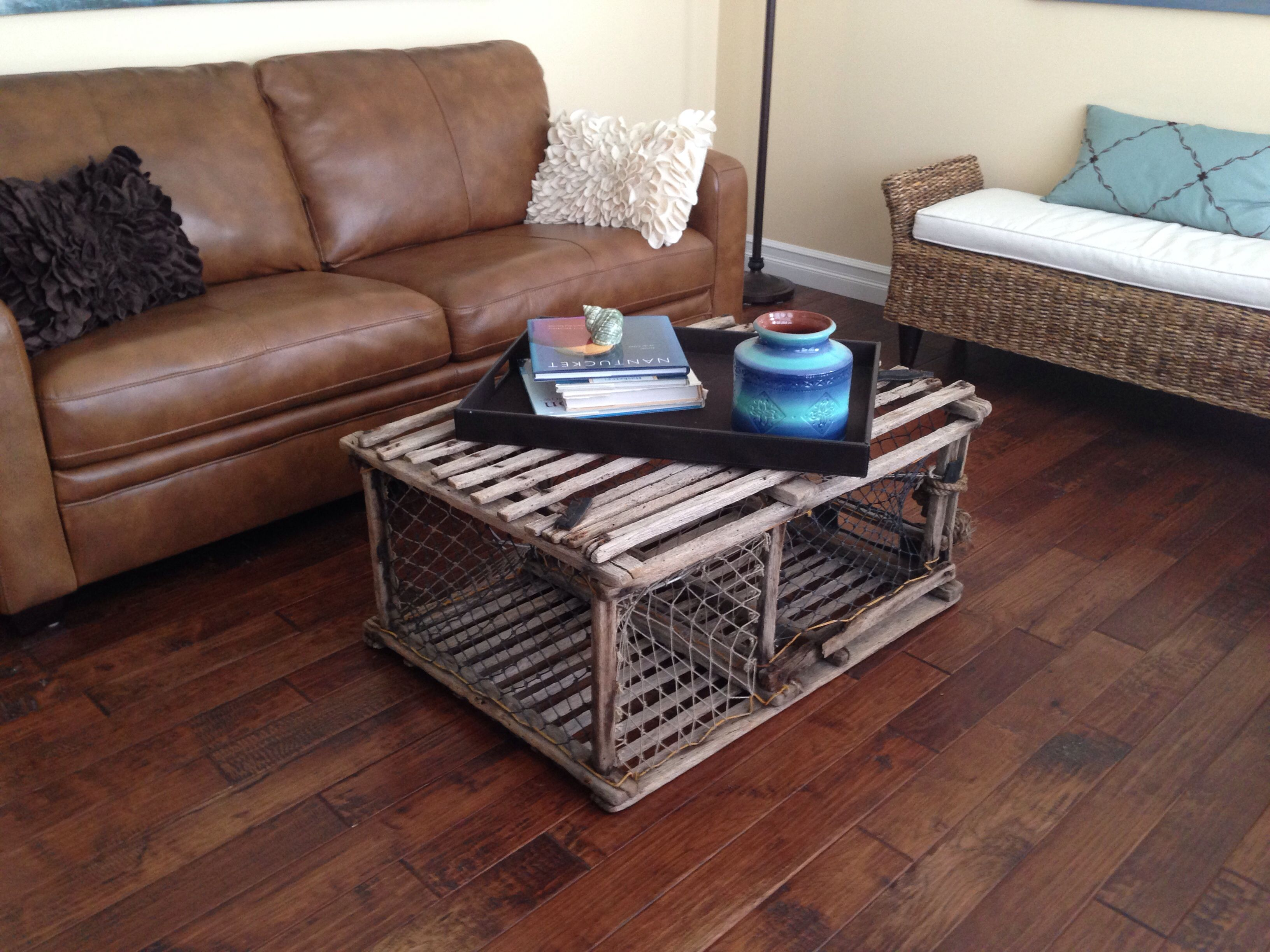 My Quirky Lobster Trap Coffee Table Coffee Table Table Home Decor [ 2448 x 3264 Pixel ]