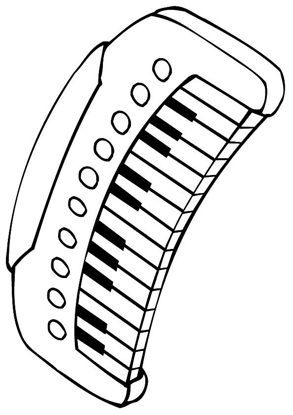 10 Beautiful Piano Coloring Pages For Your Little One Coloring Pages Color Kids Art Projects