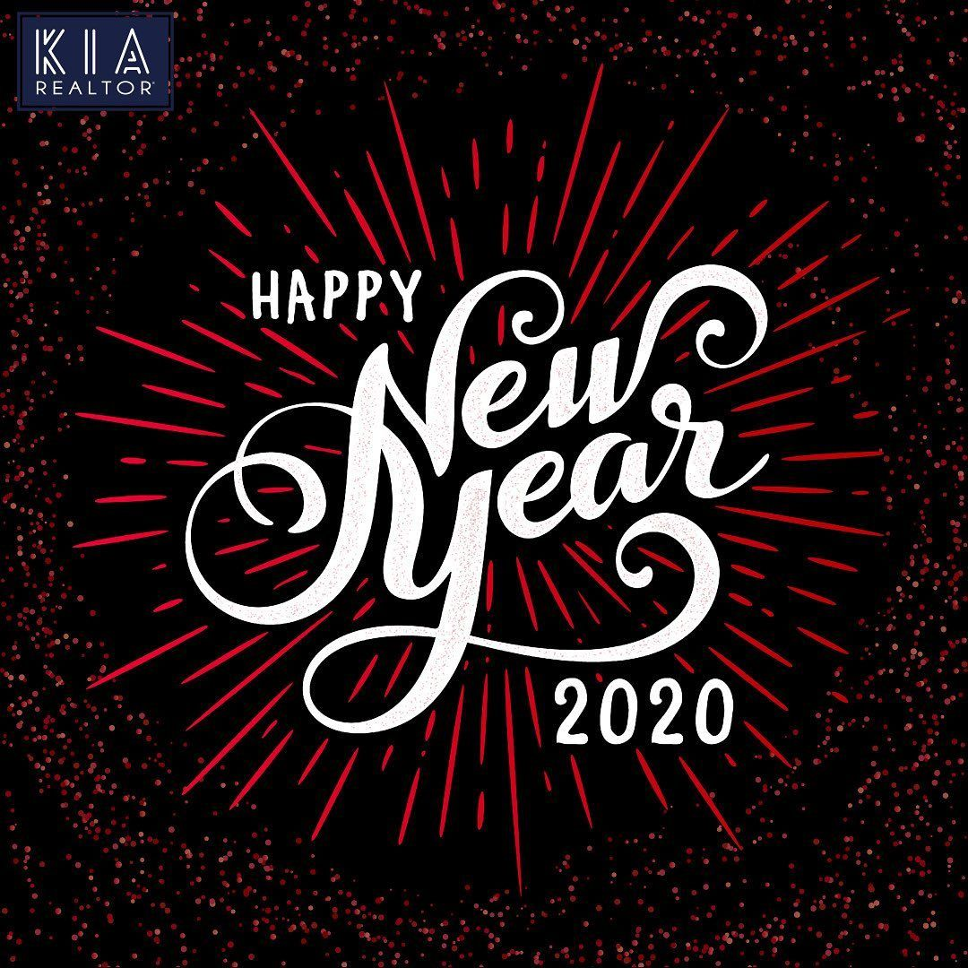 Happy New Year From Kia Real Estate Family To You All In 2020 Sport Team Logos Happy New Year Neon Signs