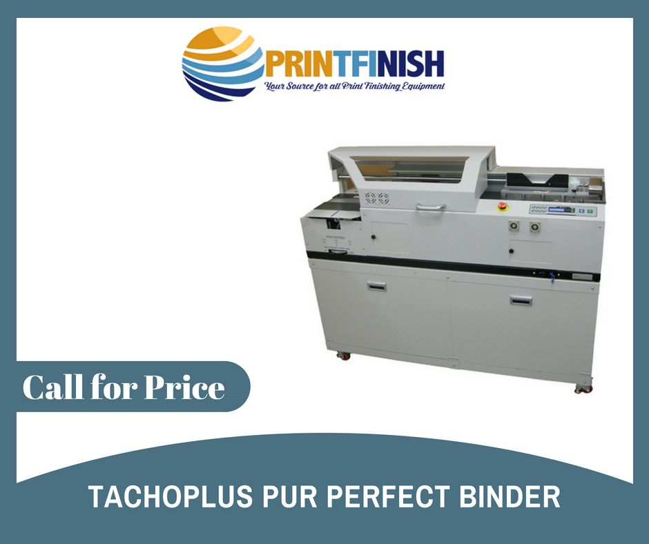 Tachoplus Pur Perfect Binder Machine, Detail:- The Main