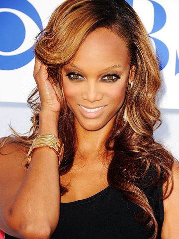 Tyra Banks Tyra Banks Long Hair Women Tyra