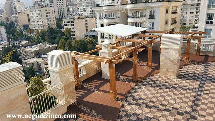 روف گاردن-roof garden
