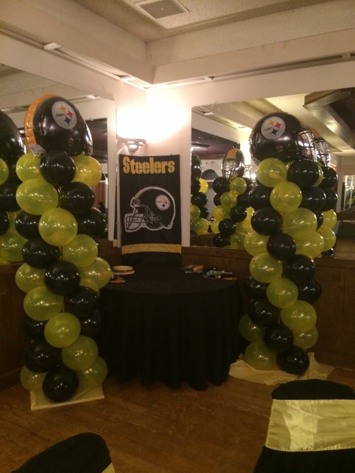 Nfl pittsburgh steelers party supplies party city dads 60th steelers theme baby shower filmwisefo