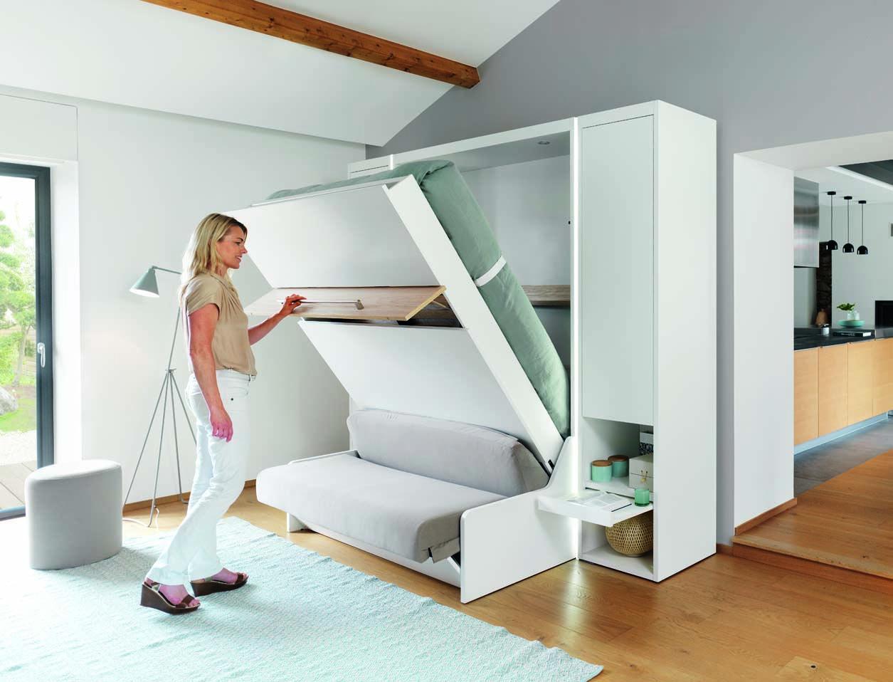 La Chambre Meubles Kranklader Lit Escamotable Mur Lit Mobilier De Salon
