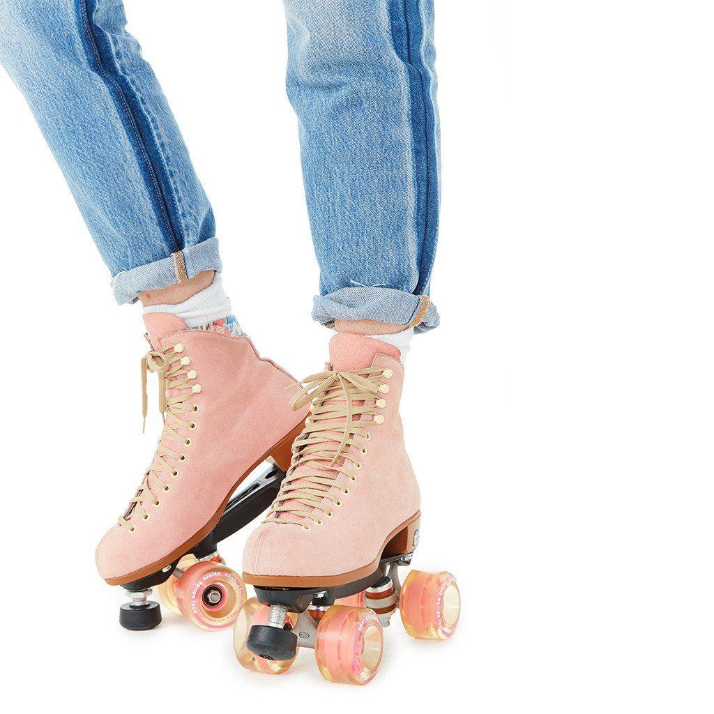 00daac3d9d1 pink roller skates by moxi roller skates - shoes - ban.