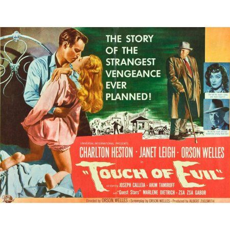 Touch Of Evil Canvas Art - (28 x 22)