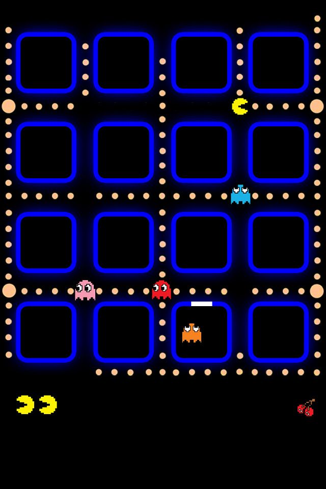pacman iphone 4 wallpaper original jpg 49354 640 960 wallpapers