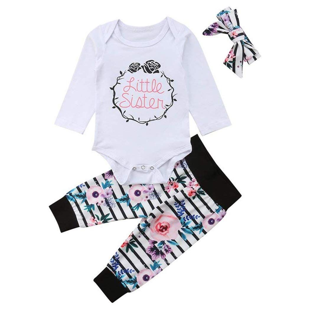 Baby Girl Outfits,Fineser Adorable Toddler Kids Baby Girl Cartoon Bunny T-Shirt Tops+Pants Outfits 2Pcs Clothes Set