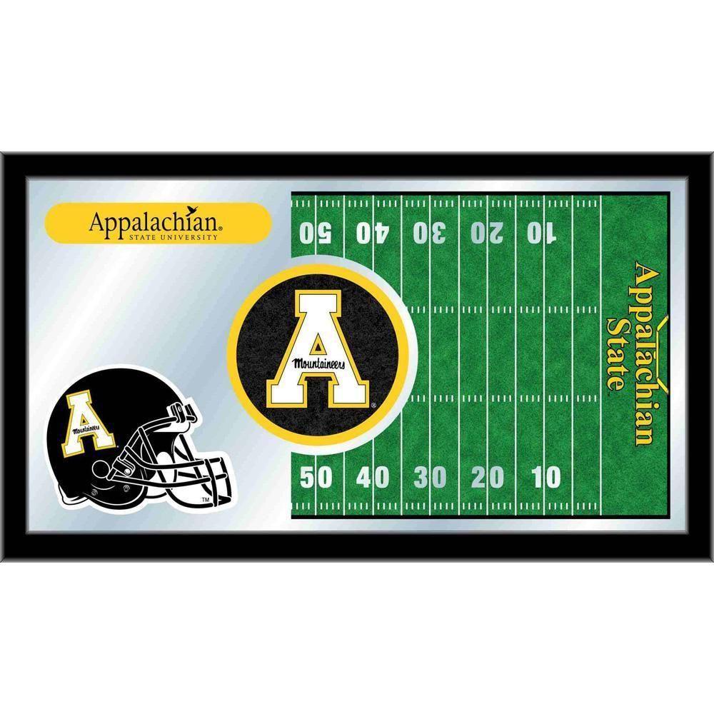Appalachian State Mountaineers Football Field Wall Mirror