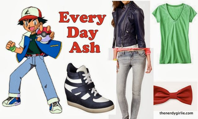 The Nerdy Girlie: Every Day Cosplay: Ash #Pokemon