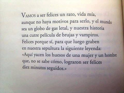 Luis Alberto de Cuenca -Vamos a ser felices.