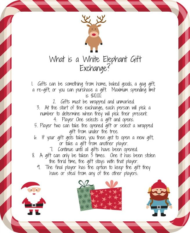 White Elephant Gift Exchange. A fun idea for an office party, or evening  out with friends. - White Elephant Gift Exchange. A Fun Idea For An Office Party, Or