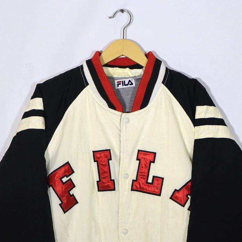 FILA Rare Vintage FILA 90s Puffer Puffy Jacket Italia FILA