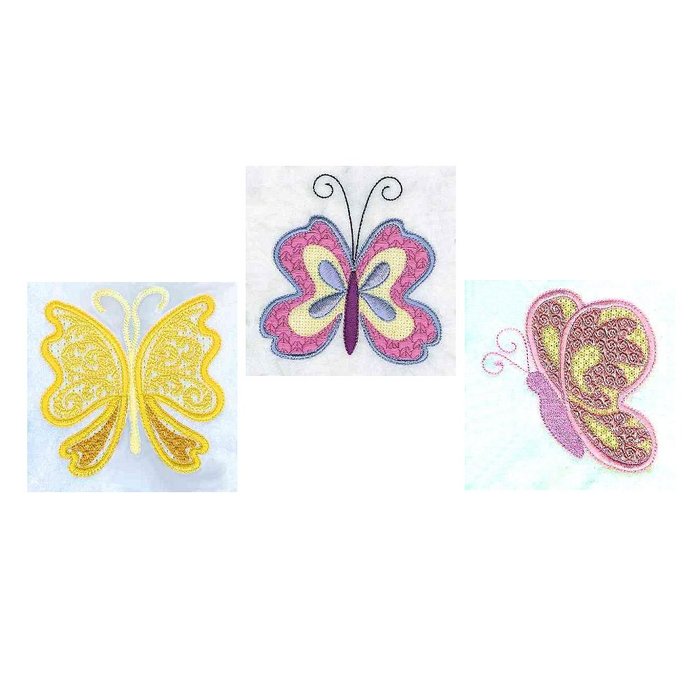 """""""Fantasy Butterflies"""" Here are 3 beautiful butterflies for"""