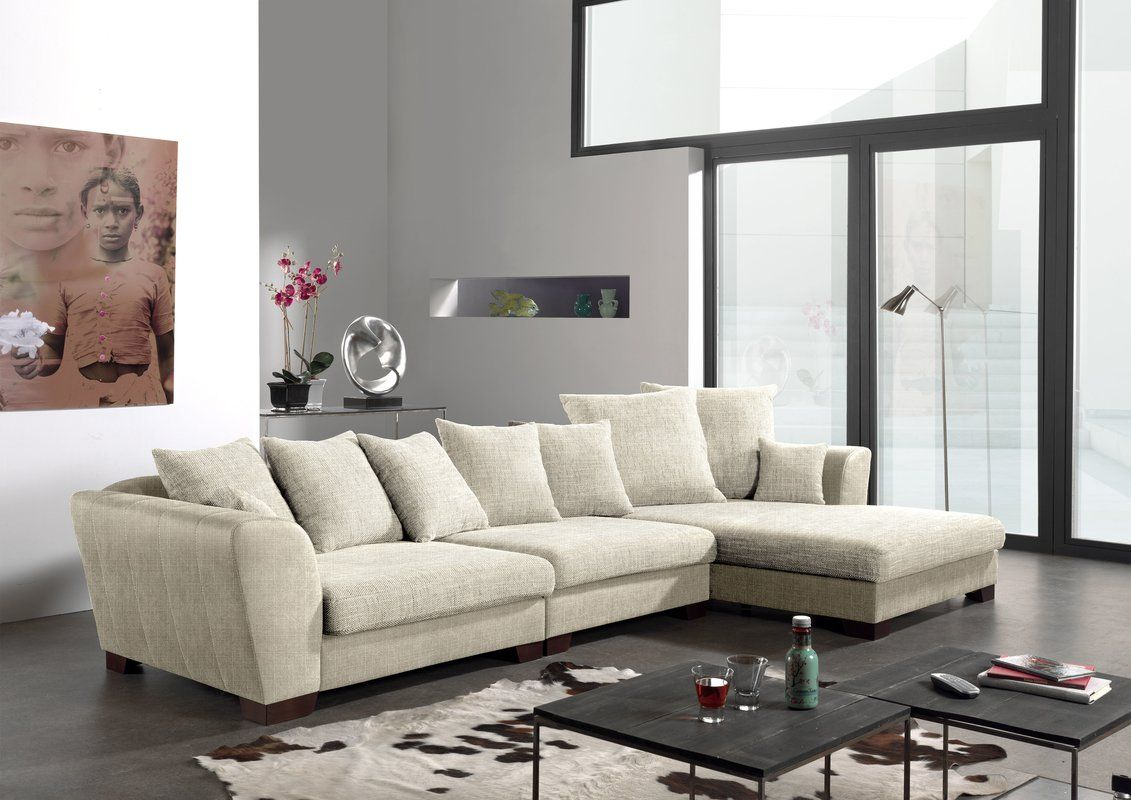 SPIN Polstermöbel Ulm Modular Corner Sofa | Wayfair.co.uk Part 96