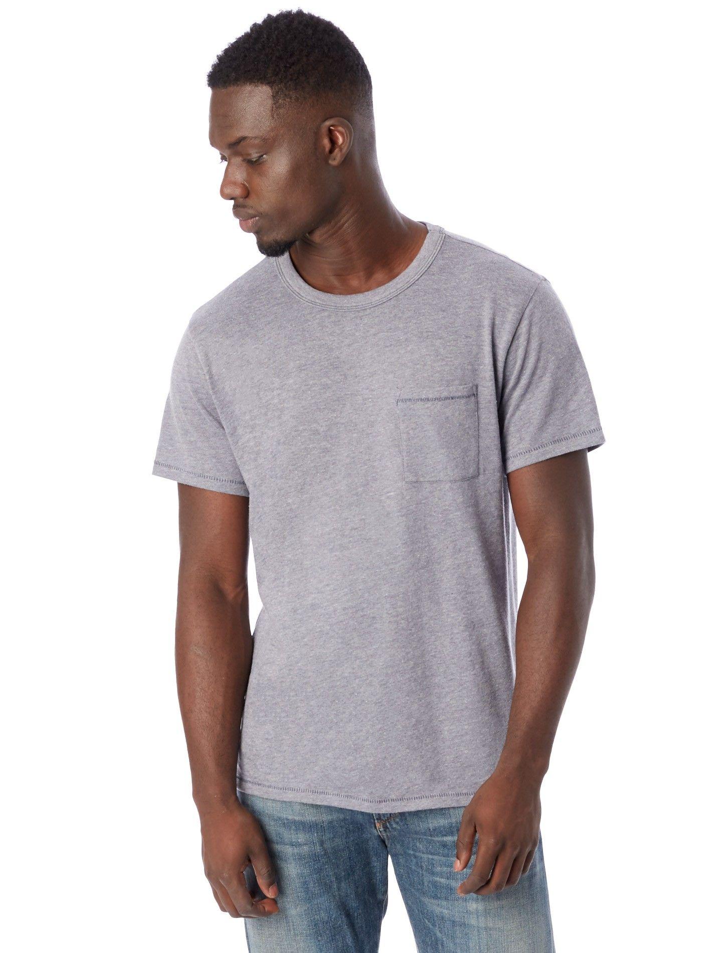 f02ac6db9 Alternative Apparel Keeper Vintage Jersey Pocket T-Shirt - Green Olive 2X