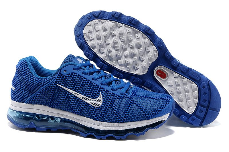 best service 97856 58c28 New 2013 Nike Air Max 2011 Blue White Womens Running Shoes Fashion Grils  Sneakers 2014 Summers