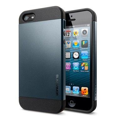 Spigen Sgp Iphone 5 Case Slim Armor Metal Slate Best Iphone Iphone 5s Iphone 5