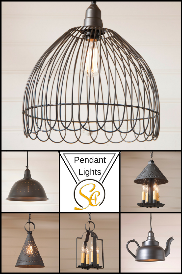 Country rustic u farmhouse style pendant lights by irvinus country