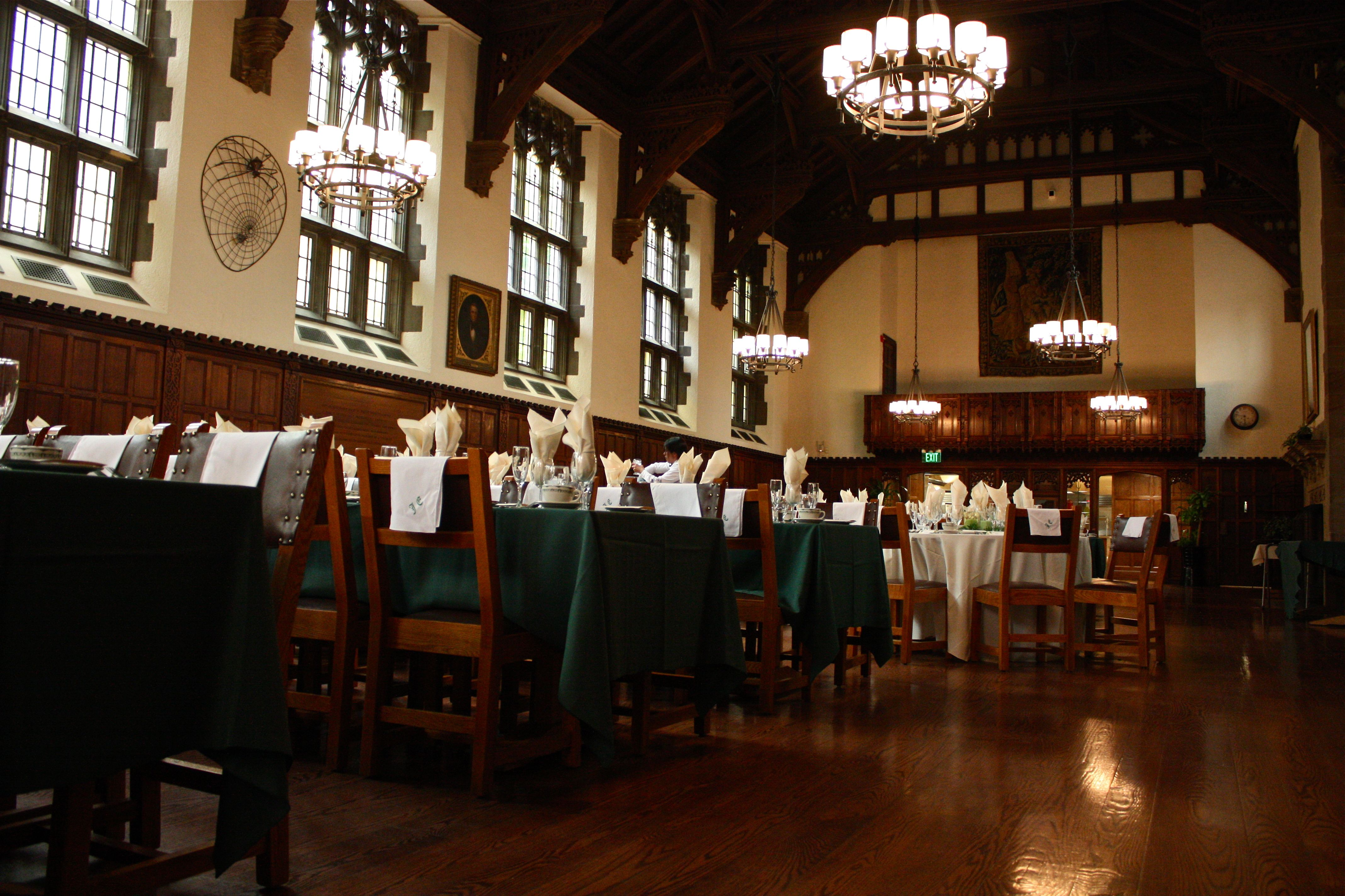 Dining Hall In Je Jonathan Edwards College Je At Yale