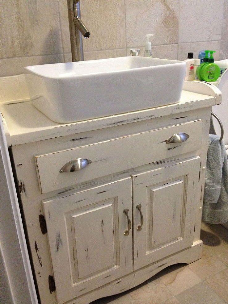 Bathroom Vanity Diy Badkamer Interieur Houten