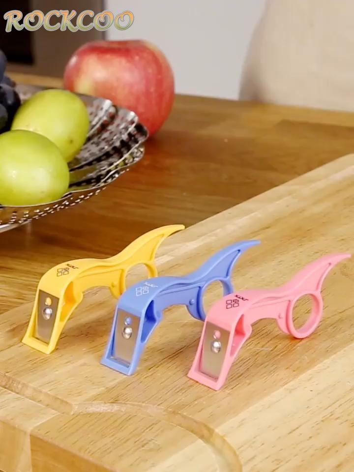 Kitchen Finger Ring Fruit Vegetable Peel Remove Gadget