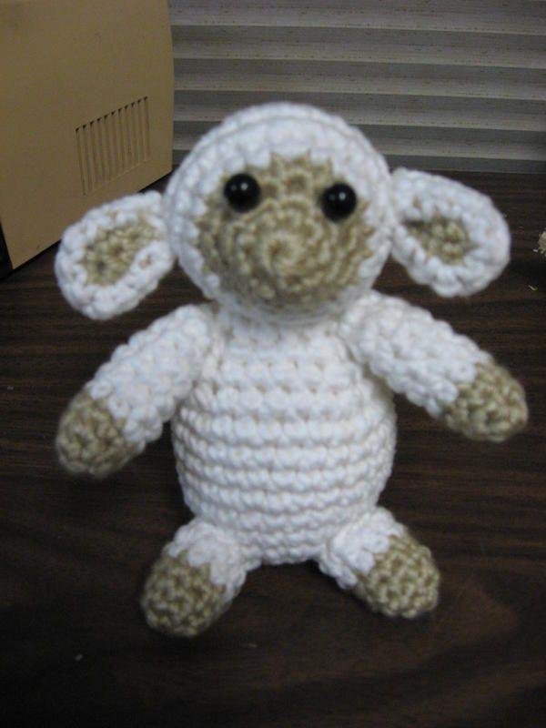 Ewey The Lamb Amigurumi Free Original Patterns Crochetville