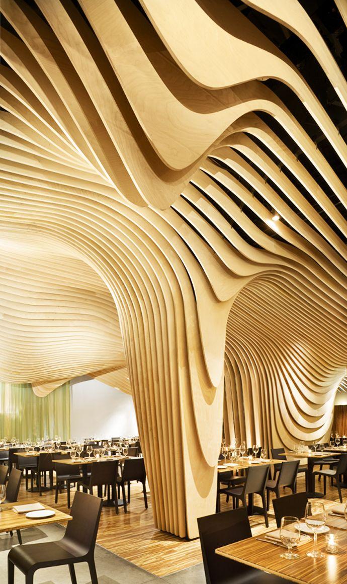 The Best New Restaurant - BANQ by Office dA | Restaurants, Beautiful ...