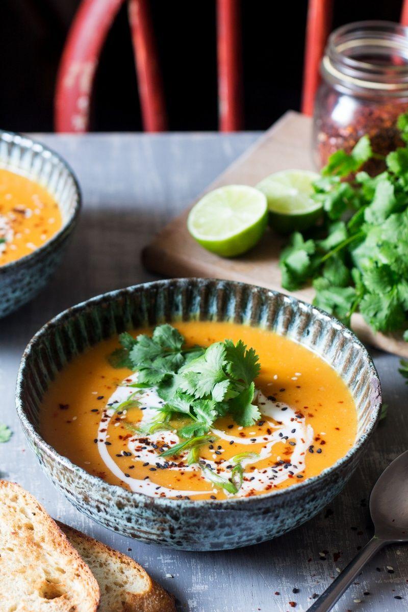 Miso pumpkin soup Recipe Pumpkin soup, Heathy eating