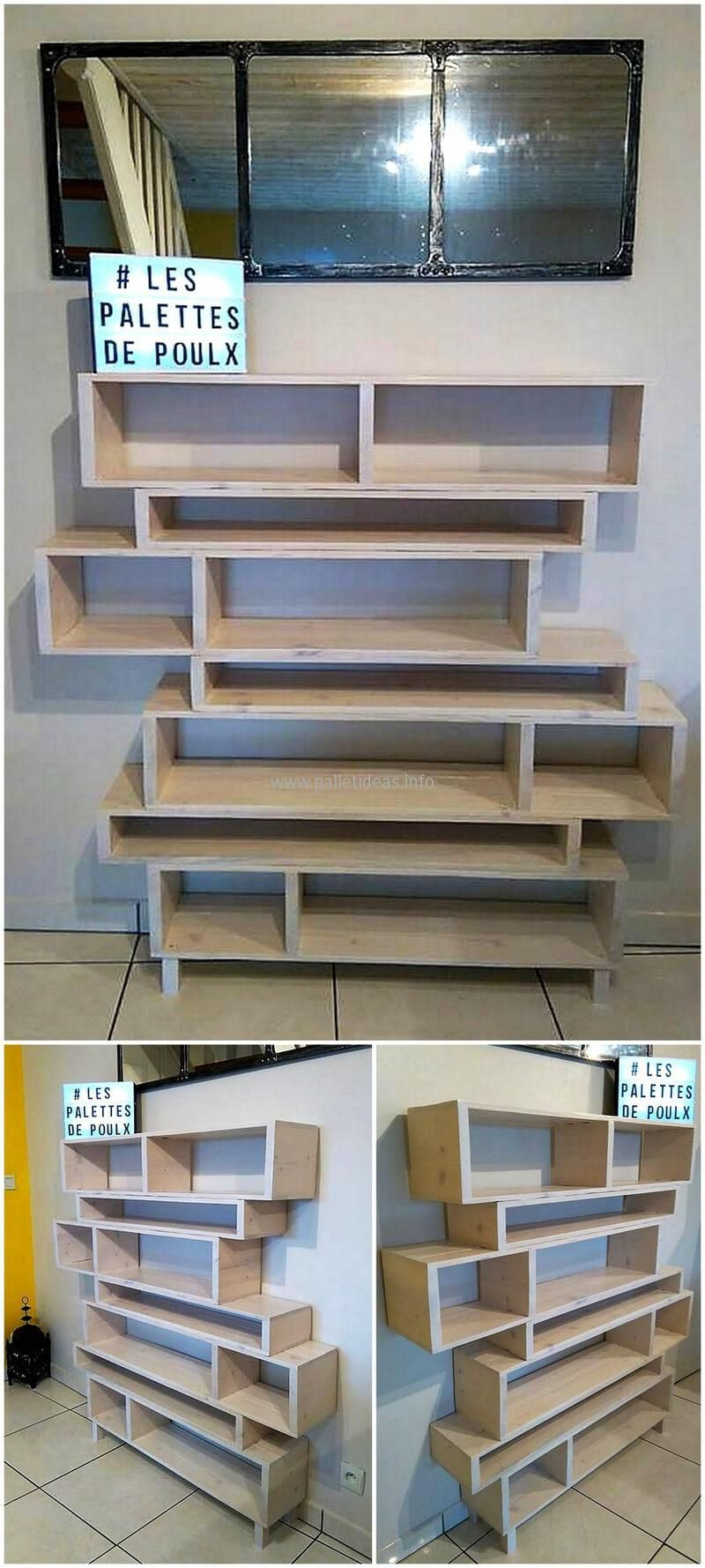 Amazing Uses For Old Used Shipping Pallets | Almacenamiento, Madera ...