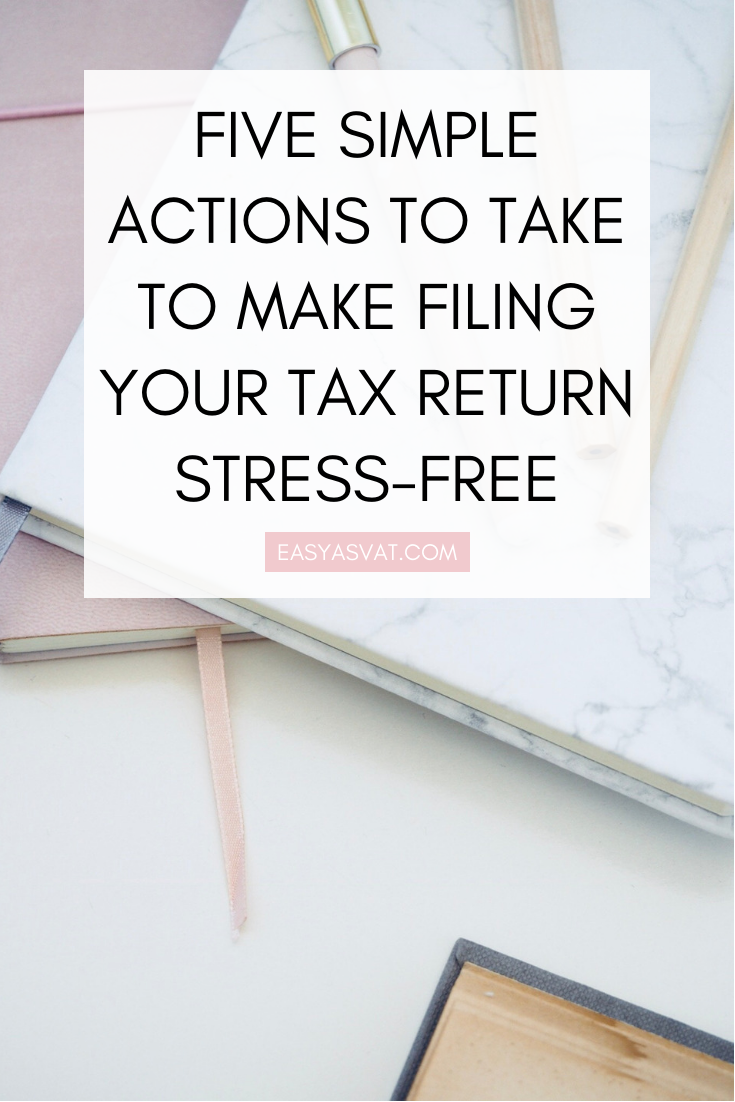 Filing Your Tax Return Stress