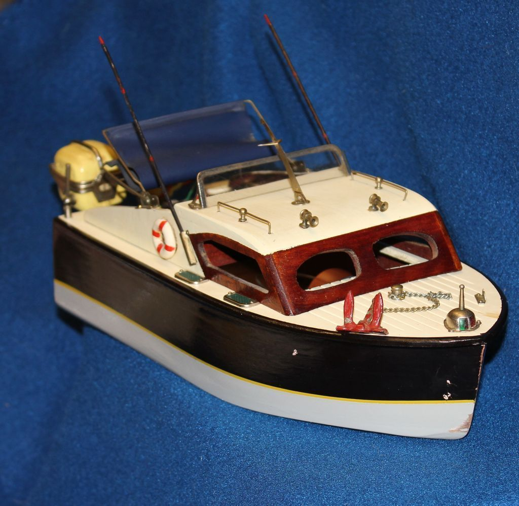 Beau 1950u0027s Cabin Cruiser Toy Boat And Toy Lang Craft Motors (from  Liveoakantiques On Ruby Lane) | BABY BOOMER♥MEMORIES U0026 TOYS From The 50s,  60s, ...