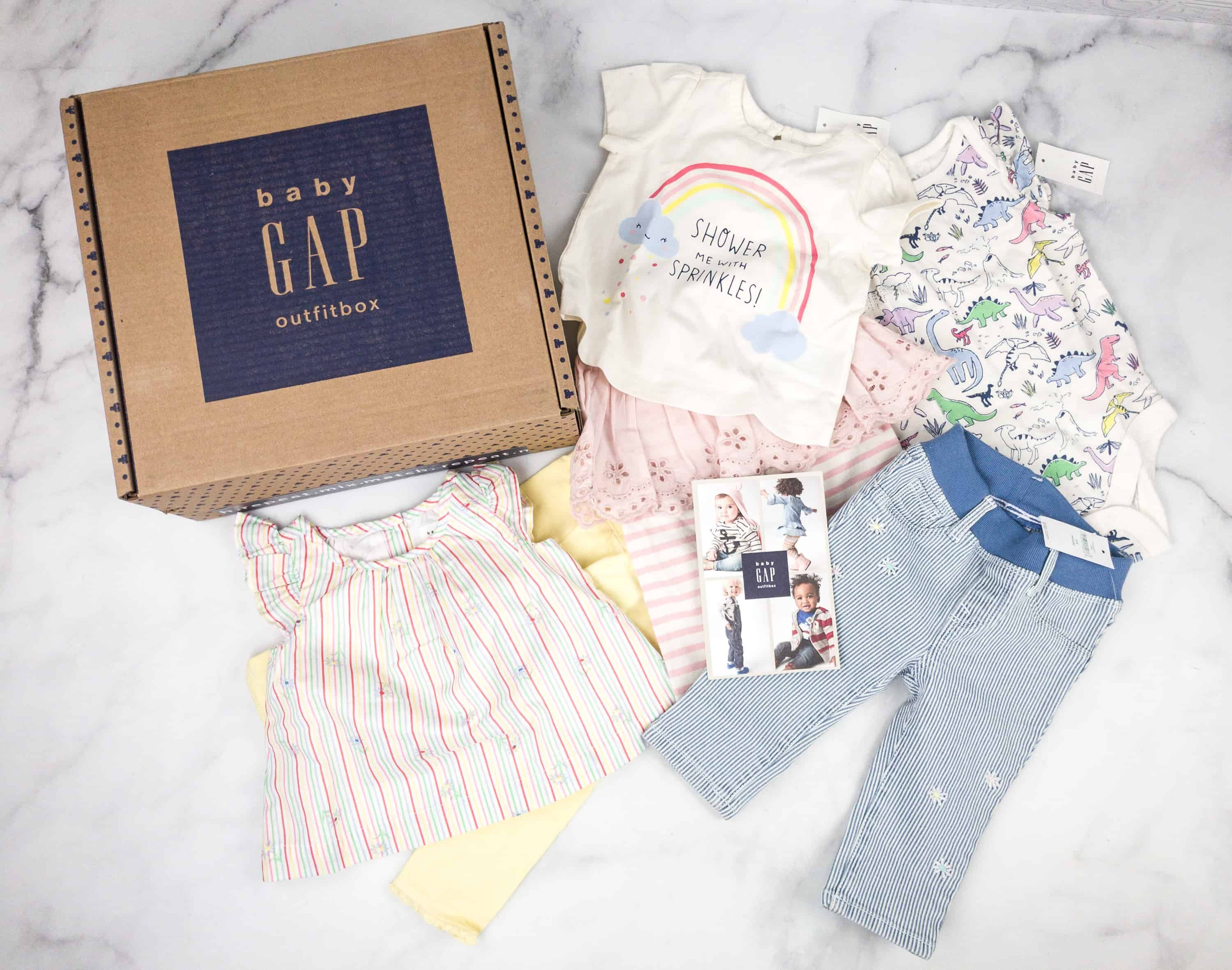 Clothing Box Subscription >> Babygap Outfitbox Spring 2018 Subscription Box Review