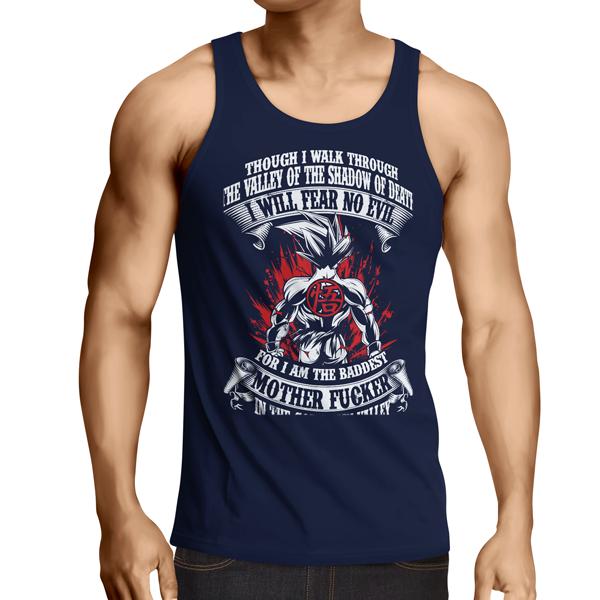 b5514ad9 Super Saiyan Goku Shirt- PF00246TT | DBZ | Naruto shirts, Tank tops ...