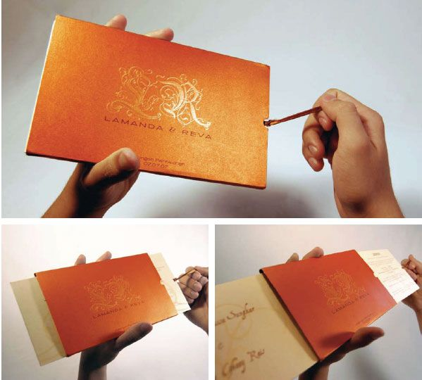 different wedding invite 25 Great Wedding Invitation Designs