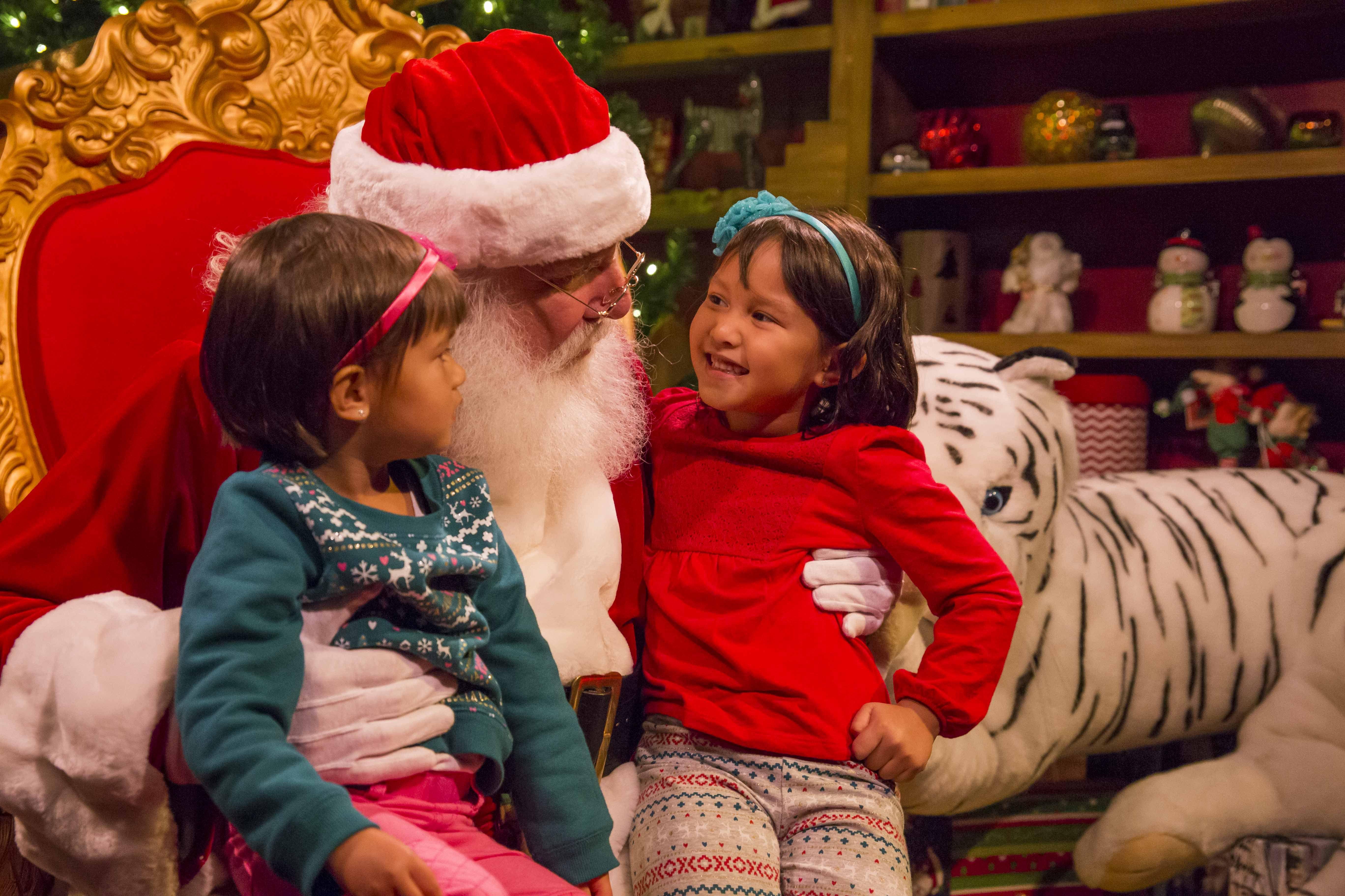 Christmas Town Santa