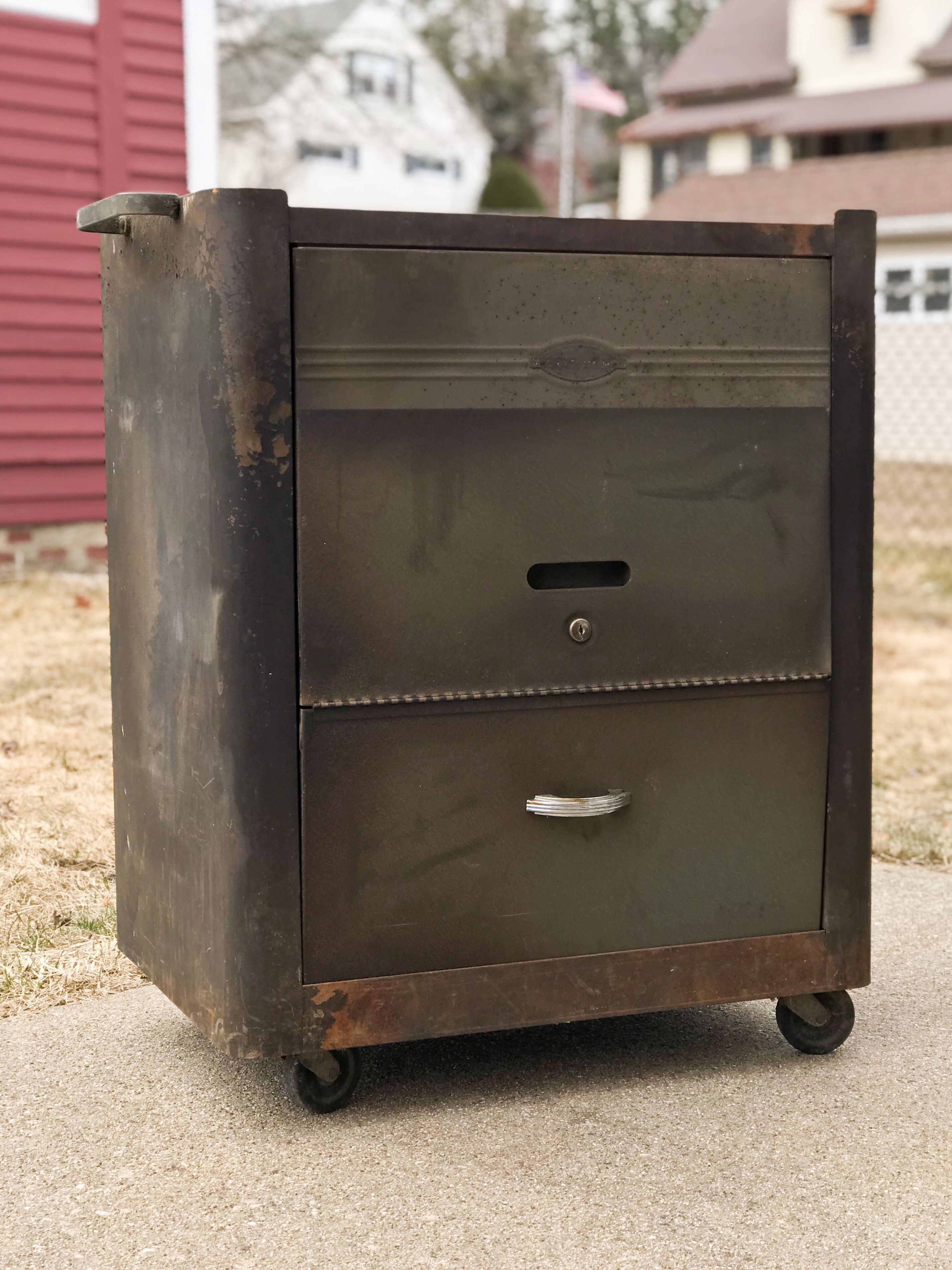 Craftsman deluxe roller c 1949 old tool boxes
