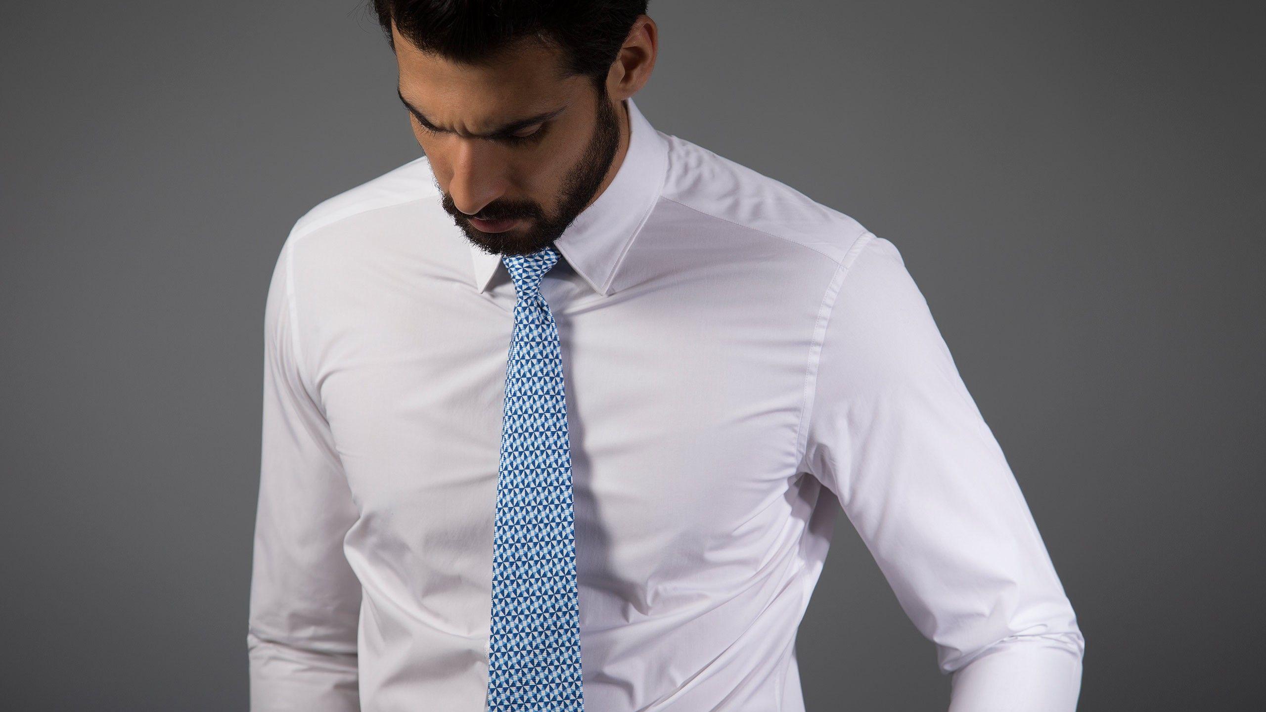 Buy Essential White Shirt - Plain Formal Shirts Online at Andamen ...