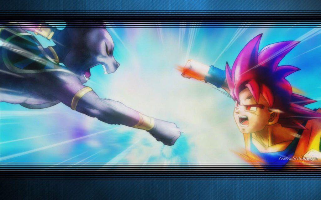 Goku Vs Beerus Wallpaper Hd