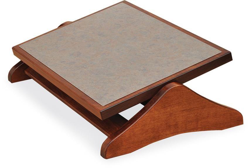 Amish Adjustable Wooden Foot Rocker Footrest Foot Rest Amish Furniture Wooden Diy