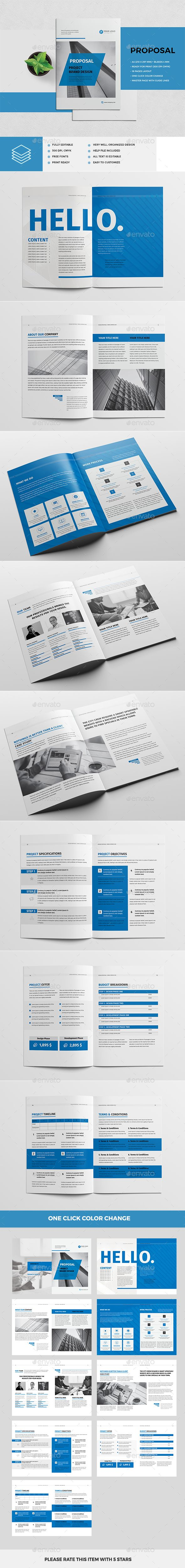 Proposal  Proposals Proposal Templates And Business Brochure