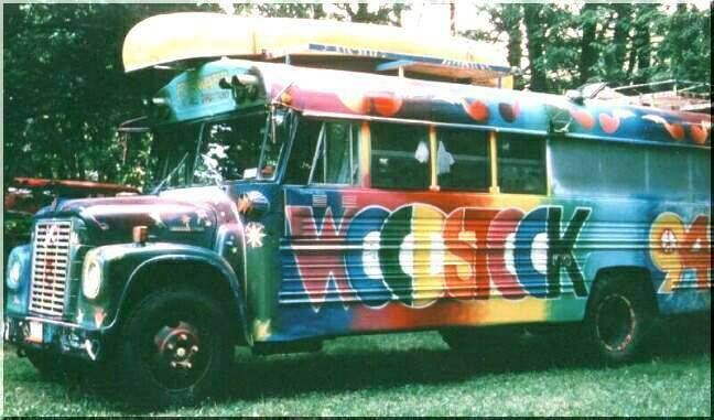 Off to Woodstock. I Some of you remember these days. Or maybe not if you partied to much.